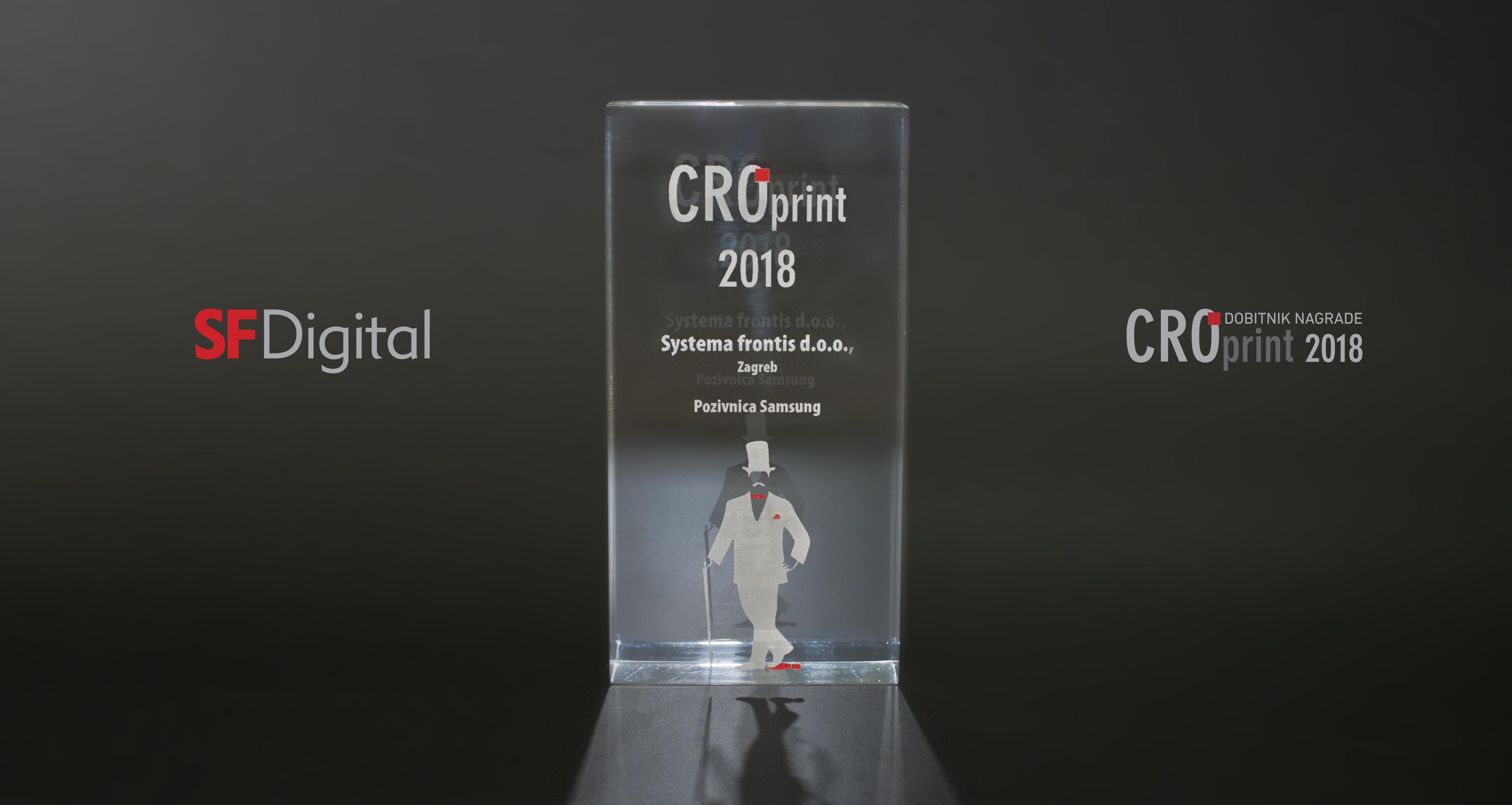 DOBITNIK NAGRADE CRO PRINT 2018